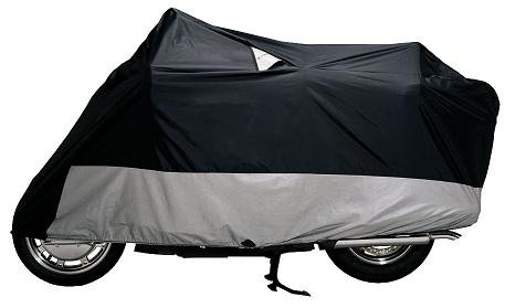 Dowco Guardian Weatherall Plus Motorcycle Cover (Fits Full Dress 500-1100cc Bikes With Fairings & Bags) Large L 50003-02
