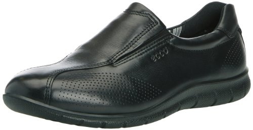 ECCO Women's Babett Slip-On Walking Shoe,Black,38 EU/7-7.5 M US