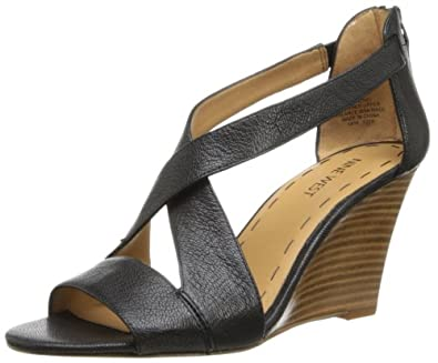 Nine West Women's Fichel Dress Sandal,Black,9.5 M US