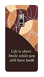 SWAG my CASE PRINTED BACK COVER FOR ONE PLUS TWO Multicolor