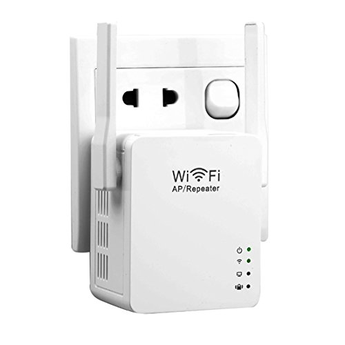 noyokere 300mbps wifi repeater wlan access point range router extender mit lan port wps wpa. Black Bedroom Furniture Sets. Home Design Ideas