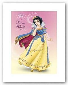 (11x14) Snow White and the Seven Dwarfs Movie Snow White Shimmer Disney Poster Print