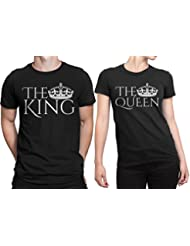 Dressify Couple T-shirt - The King And The Queen