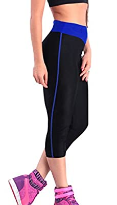 iLoveSIA® Women's Running Capri Tights YOGA Pants Workout Leggings