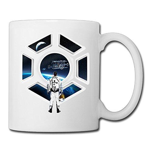 White-Star-Citizen-Logo-Video-Game-Ceramic-Coffee-Tea-Cup-11oz-Unisex-Printed-On-Both-Sides