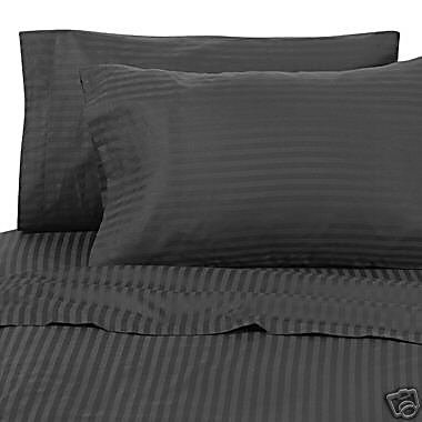 Hunter Green King Egyptian Linens Egyptian Cotton 6pc Bed Sheet Set, 1200 TC