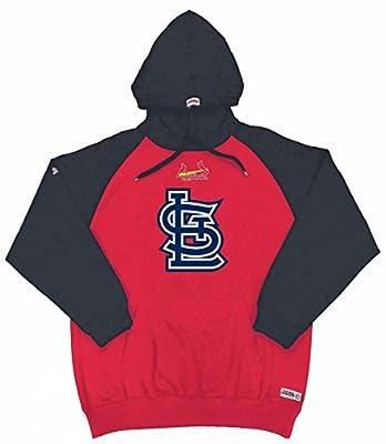 MLB St. Louis Cardinals Youth Big Logo Pullover Hood