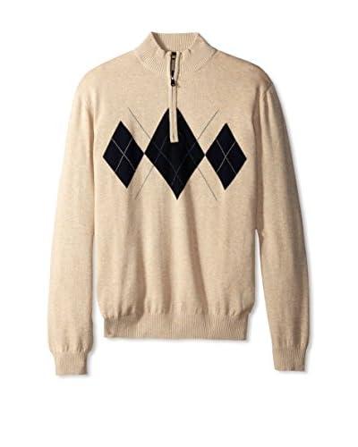 Cutter & Buck Men's Elgin Half Zip Sweater