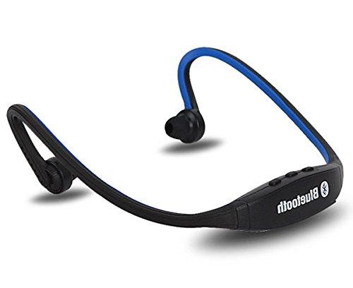 Universal Wireless Sport Bluetooth Headset Headphones Neckband Handfree For For Apple Iphone Samsung Htc Motorola Lg (Blue)