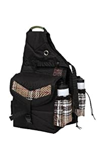Kensington KPP All Around Thermal Saddle Bags, Deluxe Black Plaid, One Size