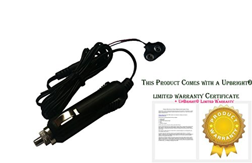 Upbright® New Car Dc Adapter For Meade Ds-2060 Ds-2070 Ds-2076 Ds-2102 Ds-2114 Ds-2090 Ds-2130 Telestar Digital Optical Astronomical Refractor Refracting Telescope Auto Vehicle Boat Rv Cigarette Lighter Plug Power Supply Cord Charger Psu (Cable Length: 25