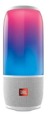 Jbl Pulse 3 Bluetoothスピーカー Ipx7防水マルチカラーled搭載ポータブル ホワイト Jblpulse3whtjn 【国内正規品】