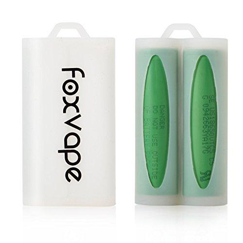 Foxvape 2PACK Aufbewahrungsbox für 18650 Akkus (Lieferung ohne Batterien) | Farbe Zufällige