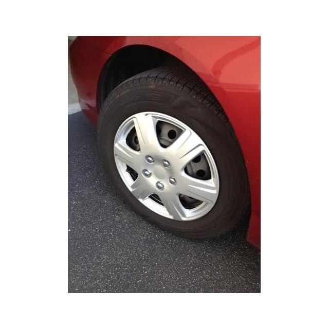 Drive Accessories KT 993 15S/L, Toyota Corolla, 15 Silver Replica Wheel Cover, (Set of 4)