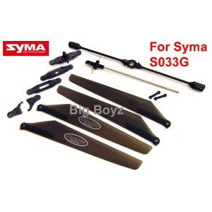 S033G SYMA helicopter repair kit spare parts 13 pcs/set -- All you need to fix