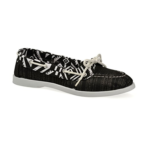 Canvas Boat Shoes Women