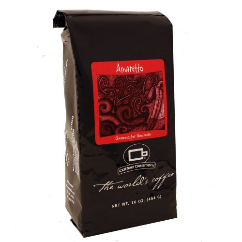 Coffee Beanery Amaretto Flavored Coffee Whole Bean