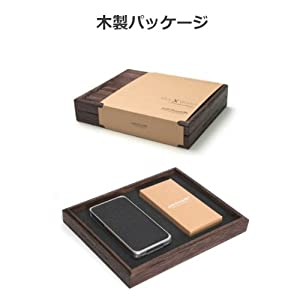 Luxury Alloy and Wood Case
