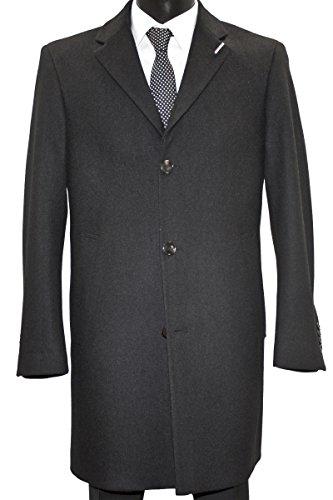Fine Pierre Cardin Woll breve cappotto in 2 colori Antracite 2 mesi