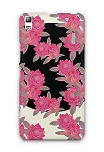 Cover Affair Flowers Printed Back Cover Case for Lenovo K3 Note