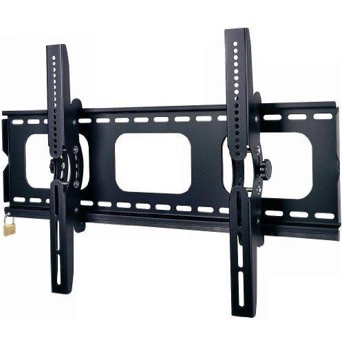 """'Duronic TVB103M Super Heavy Duty Premium verrouillable universel Noir 83,8cm 65""""Support mural pour TV LCD/Plasma/LED/3D/4K/inclinable avec verrouillage de sécurité [Bar]-Max VESA 600x 400"""
