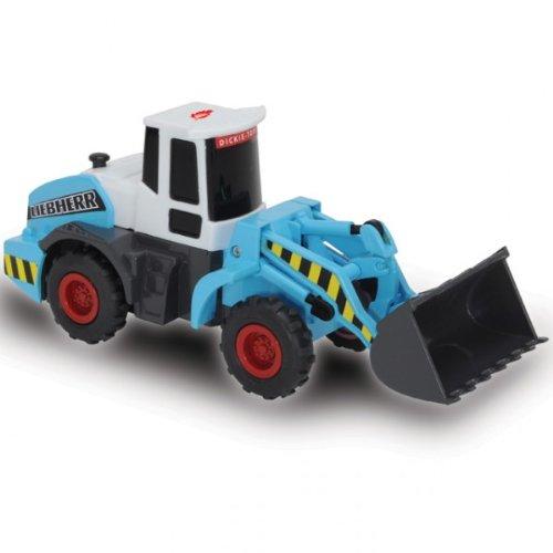 Dickie Liebherr Power Worker Bagger Baufahrzeuge Radlader Kran blau NEU, Modell / Charakter:Radlader