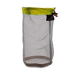 Generic Ultra Light Mesh Stuff Sack Storage Bag for Tavel Camping Size L
