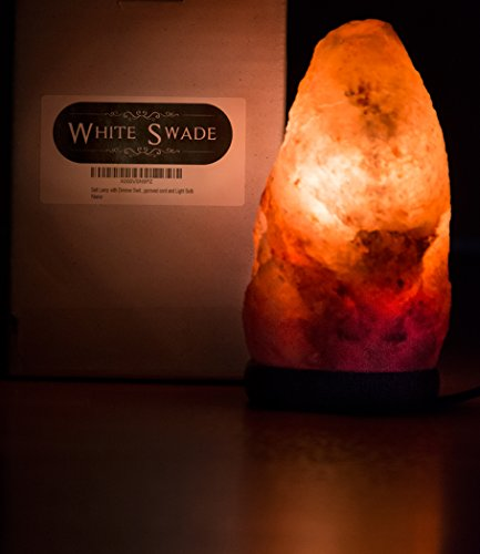 Whiteswade 7 himalayan salt lamp with dimmer switch for Authentic himalayan salt lamp