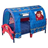 Toy / Game Delta Disney Pixar Cheerful Cars Tent Toddler Bed W/ Two Removable Safe Sleep Bedrails - For Safety