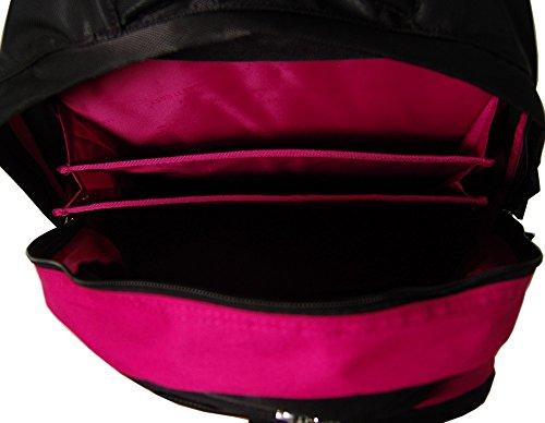 take it easy schulrucksack berlin soho 482210 gr n lila. Black Bedroom Furniture Sets. Home Design Ideas