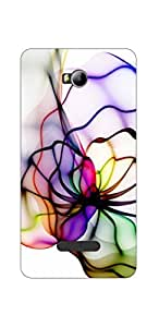 Go Hooked Micromax Spark 3 Q385 Printed Soft Silicone Mobile Back Cover