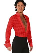 Hot Sale Medium Danny Latin Shirt in Flamenco Red