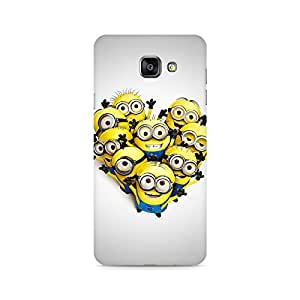 Mobicture Hola Minions Premium Printed Case For Samsung A510 2016 Version
