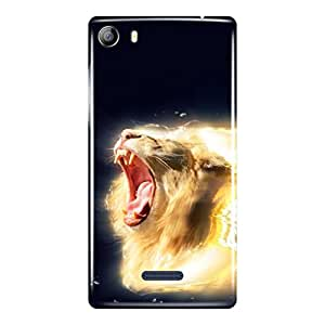 a AND b Designer Printed Mobile Back Cover / Back Case For Micromax Canvas 5 - E481 (MIC_E481_3D_1876)