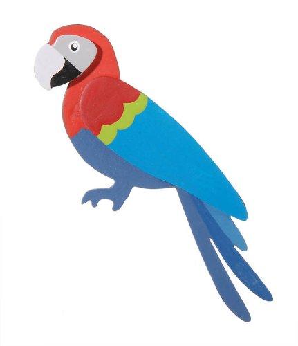 Darice 9189-81 Parrot Cutout