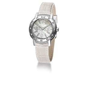 Just Cavalli Women's R7251161545 Crystal Quartz Mother-Of-Pearl Dial Watch