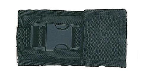 Fury Tac Sheath with Velcro and Clip Folding Pocket Knife Pouch, Tactical Nylon Black, 4 to 4.75-Inch