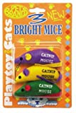 Three Bright Mice Cat Toy]