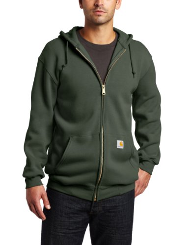Carhartt Men's  MW Hooded Zip Front Sweatshirt,