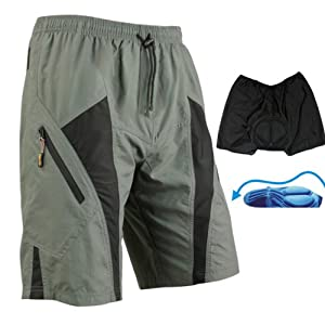 Stepful Sports Loose Fit Wicking Fabric Cycling Shorts Santic C05017 by SANTIC