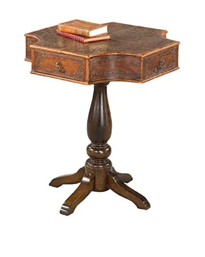 Stuttgart Leather Octagonal Table