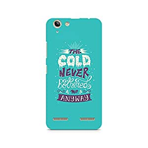 Mobicture Cold Never Bothered Me Premium Printed Case For Lenovo K5 Plus