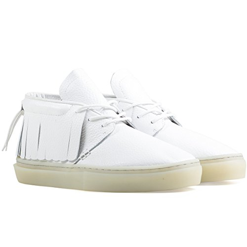 Clear Weather the One-o-one- White Leather (9.5US)