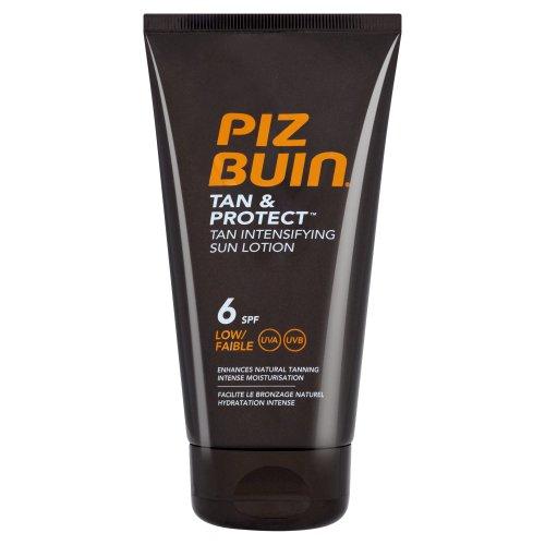 Piz Buin Tan & Protect Tan Intensifying Sun Lotion - Spf 6 Low (150Ml)