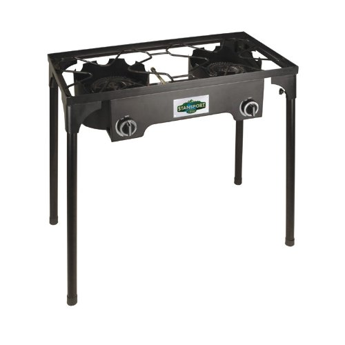 Cast Iron Double Burner Propane Stove