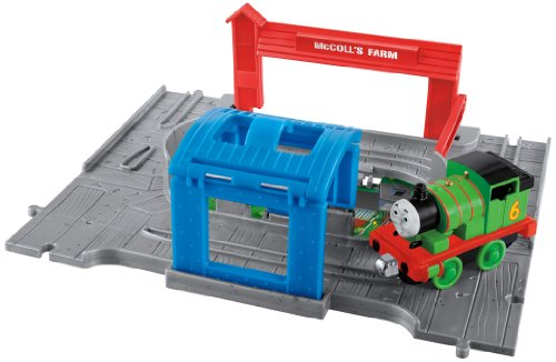 Fisher-Price Thomas the Train: Take-N-Play Percy Engine Starter Set