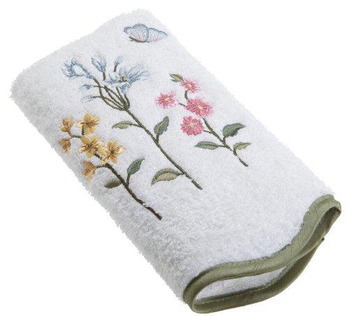 Avanti Linens Premier Country Floral Hand Towel, White (Avanti Premier Fingertip Towels compare prices)