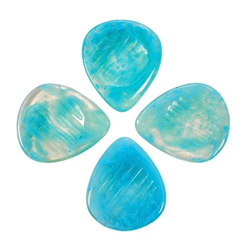 tonos-de-resina-de-agarre-de-mr-cielo-azul-de-plectro-paquete-de-cuatro