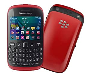 Blackberry 9320 in red on O2 Pay as you go / Pre-Pay / PAYG (Including £10 Airtime)