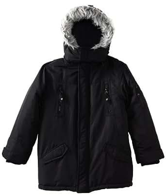 Timberland Big Boys' Snorkle Jacket, Black, Medium